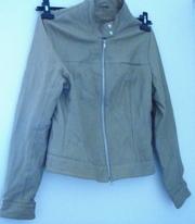 Windsor leather camel colour half jacket  Windsor leathe